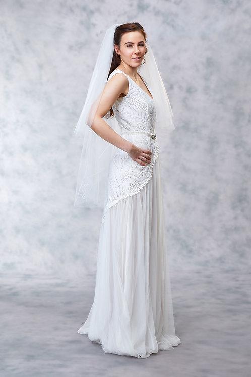 Grace - Monogrammed Veil