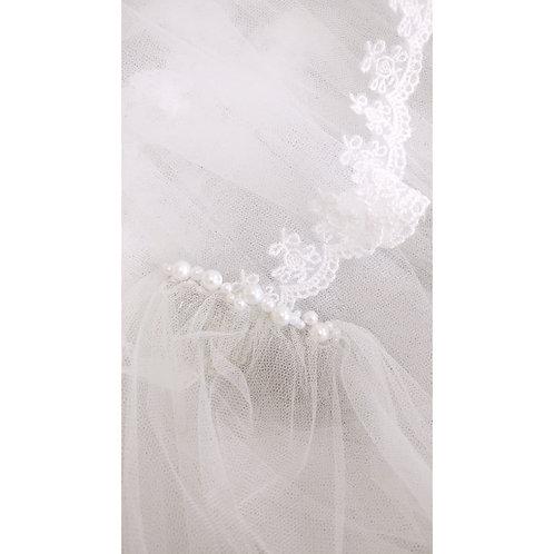SALE VEIL - Ale Lace Veil - IVORY