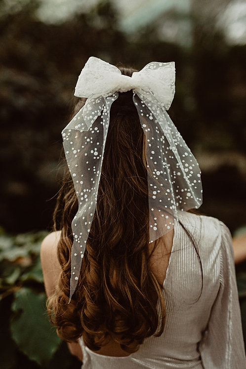Valentina - Spotty Hair Bow