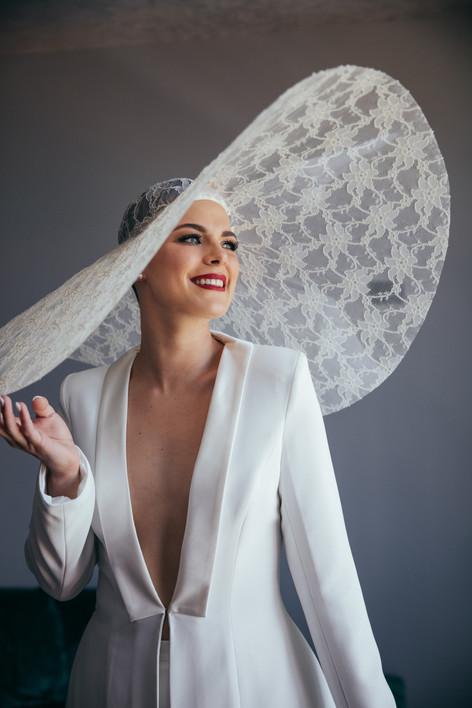Lucy's Bespoke Hat