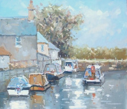 Boats on the River Soar