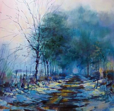 Snowy lane High Buston (1)