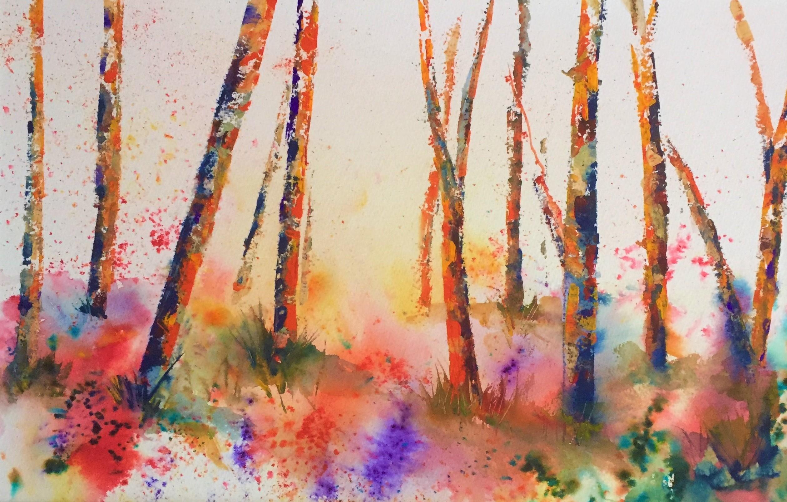 Fiery Woods Judith Herdman