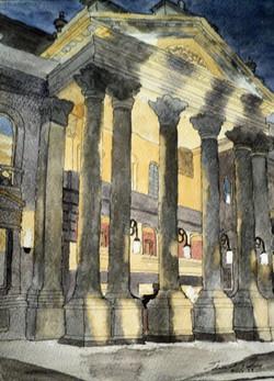 Portico, Theatre Royal