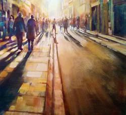 City street Newcastle