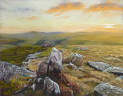 Sunrise in the Cheviots. Easter Tor