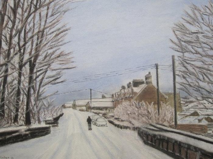 Winter walk in Northumberland