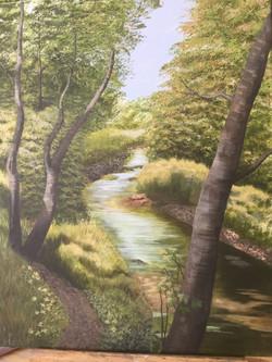 River path, Wallington
