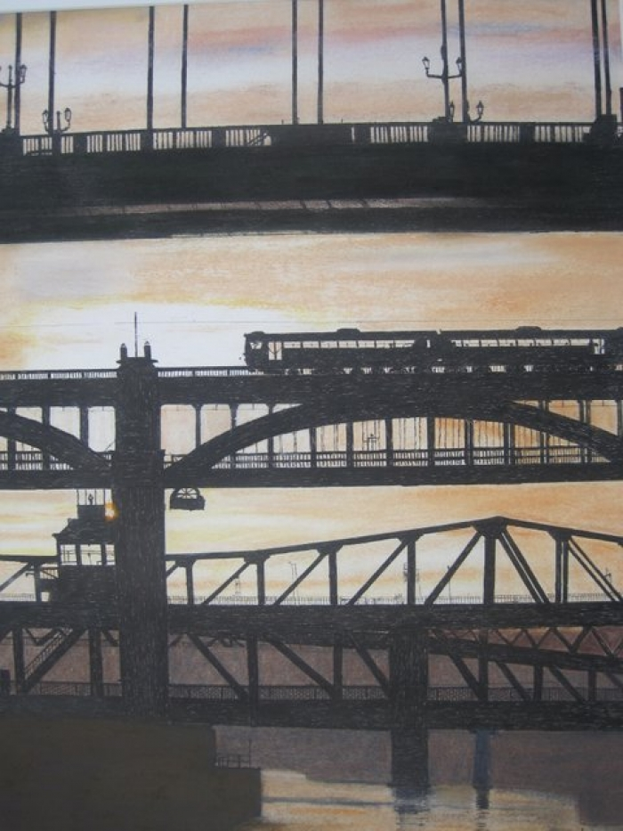 Tyne sunset