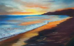 Sunrise over Whitley Bay