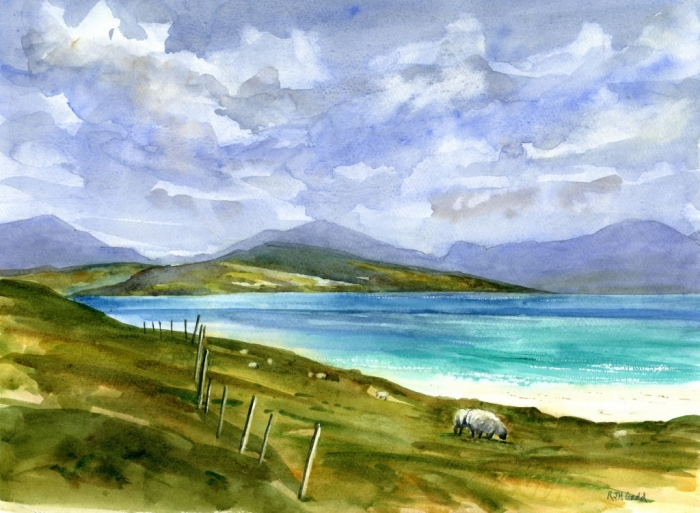 Taransay and North Harris