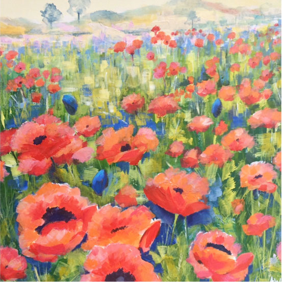Bamburgh Poppies