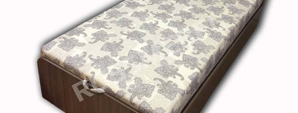 Кровать Классик 100 с матрасом