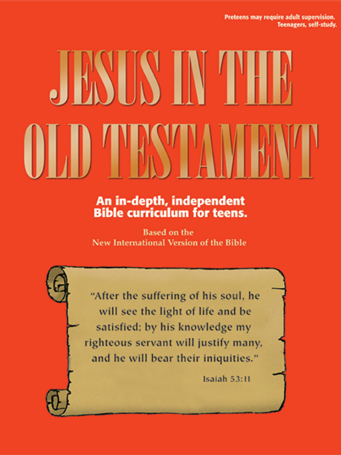 Pre-teens & Teens - Jesus in the Old Testament