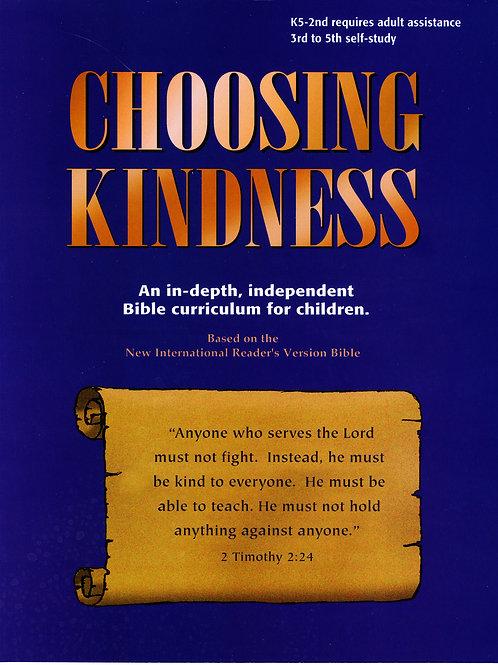 Elementary Age - Choosing Kindness