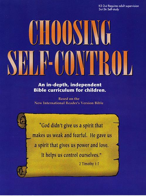Elementary Age - Choosing Self-Control