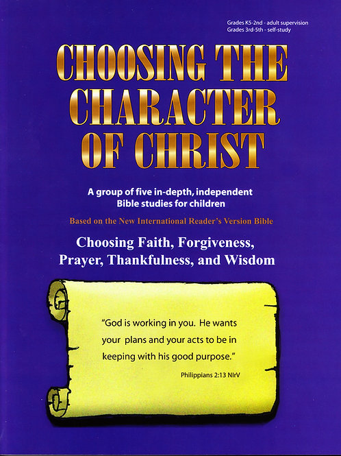 5 Books in one - Choosing the Character of Christ