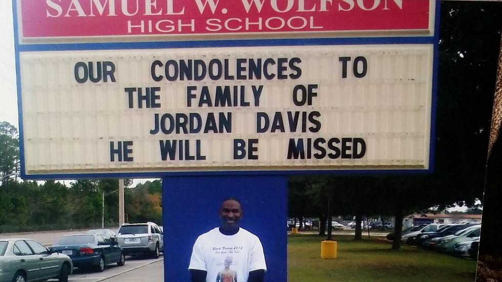 Wolfson High School Condolences