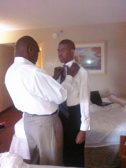 Father and Son...a tie that binds.