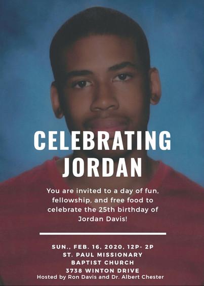 Jordan's 25th birthday