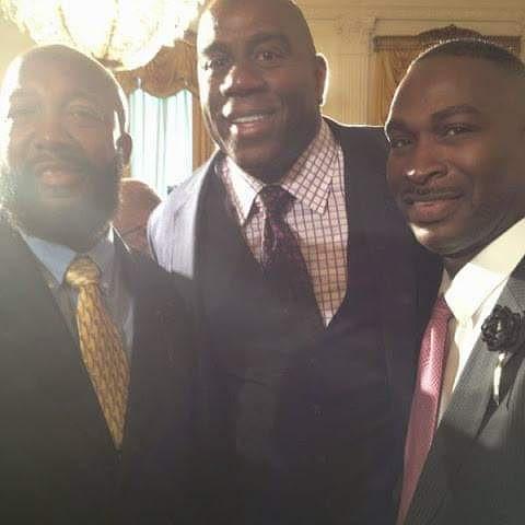 Magic Johnson, Tracy Martin, White House