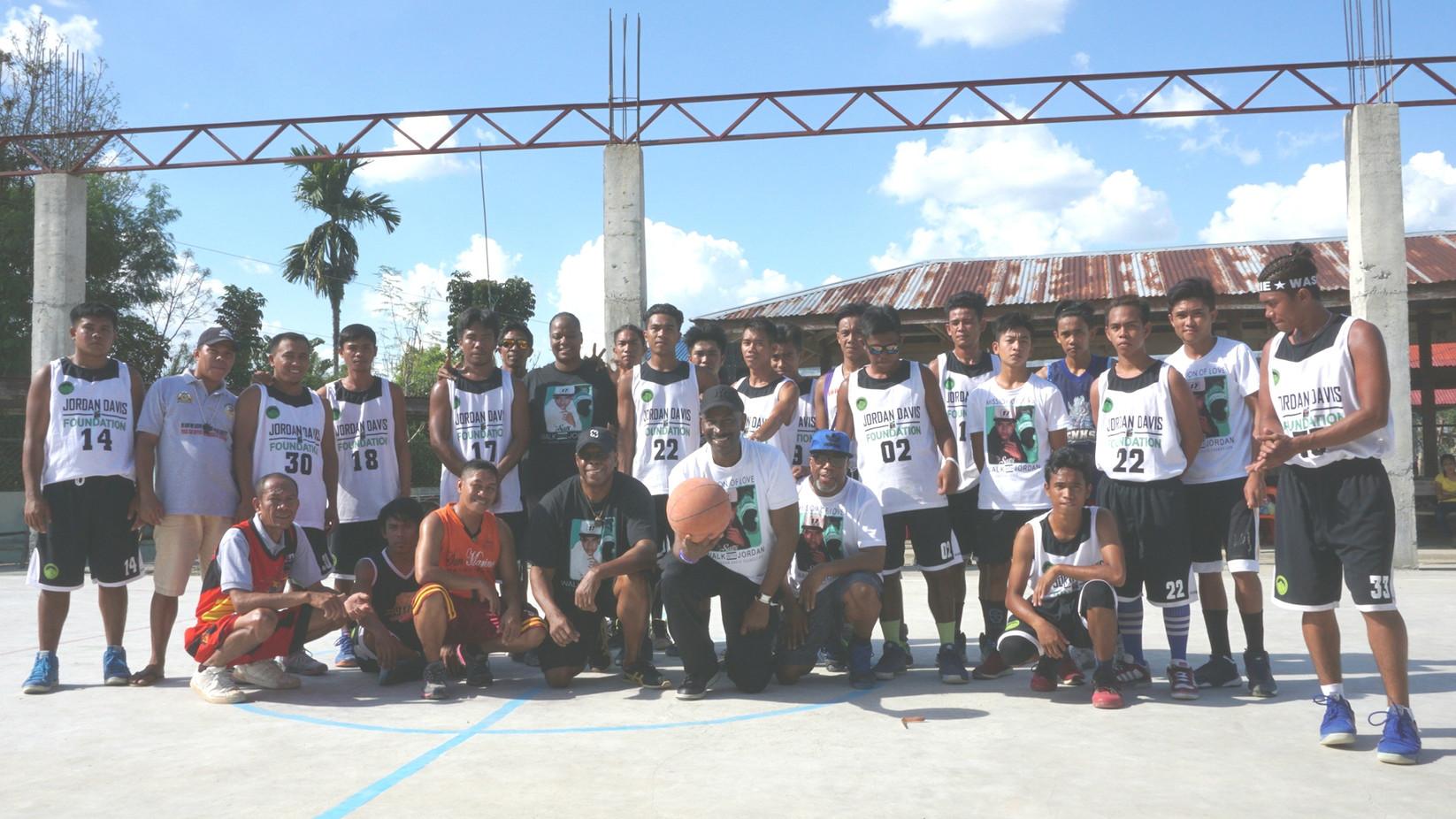 Jordan Davis Basketball Tourney / Philippines