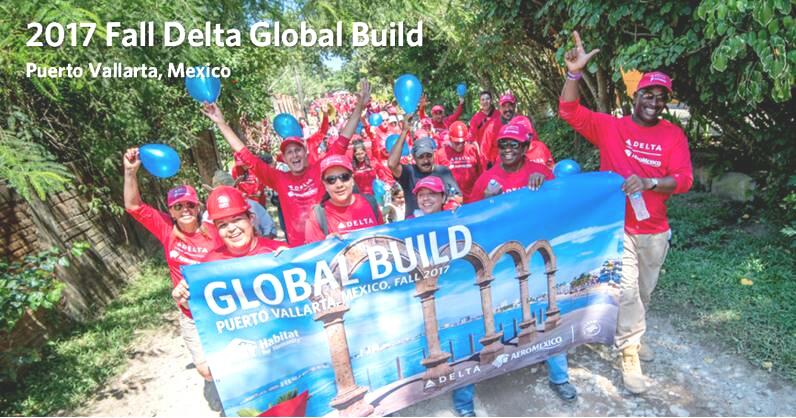 Delta Global Build/Habitat for Humanity