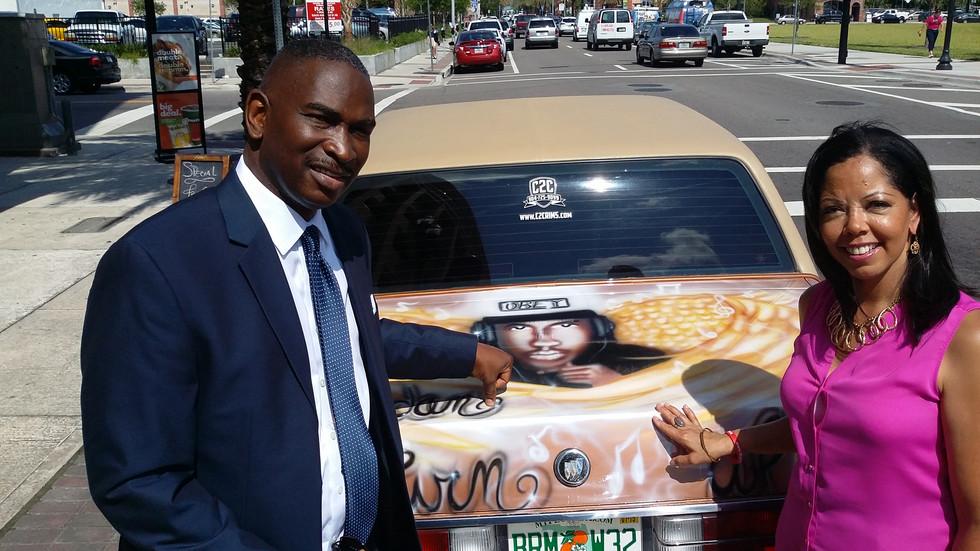 Car Mural for Jordan
