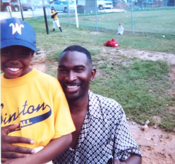 Jordan and I at baseball