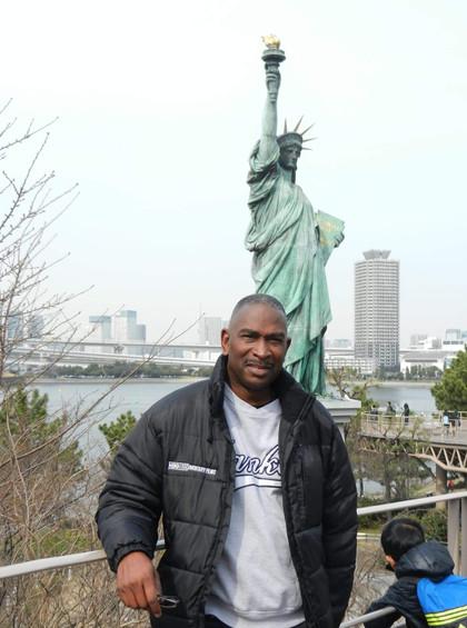 Replica of Statue of Liberty, Tokyo, Japan