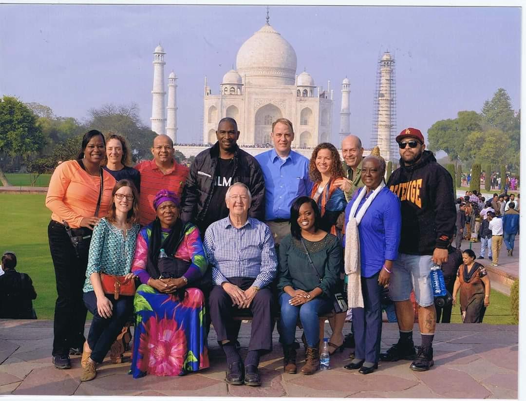 Taj Mahal, Mission of Peace to India