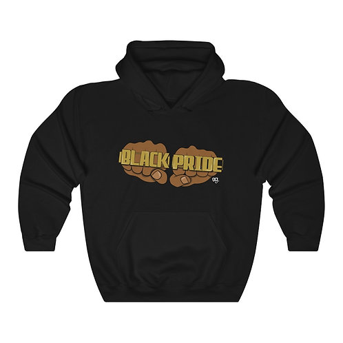 """""""Black Pride"""" Unisex Heavy Blend™ Hooded Sweatshirt"""