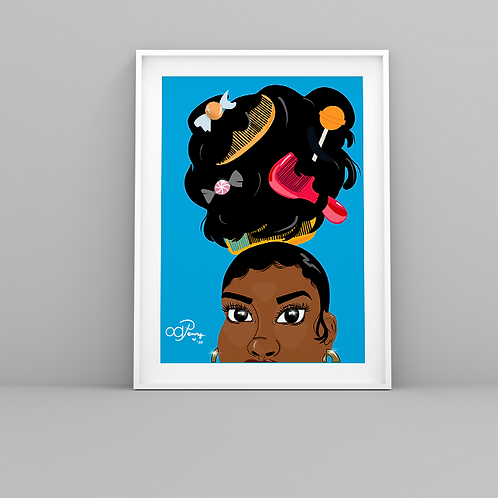 """Live in Color"" Art Prints"