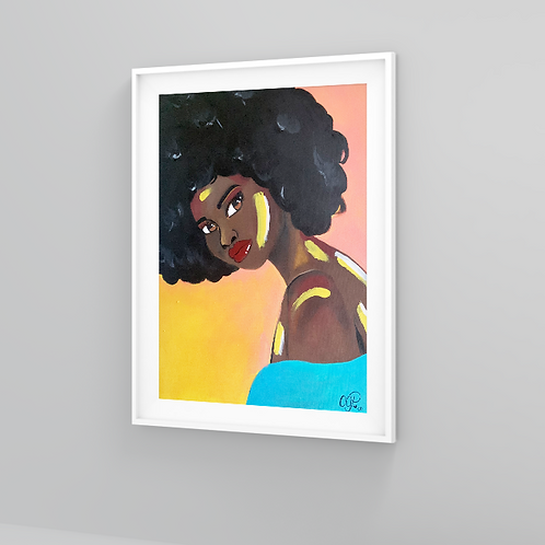 """The Color of Happiness"" Art Prints"