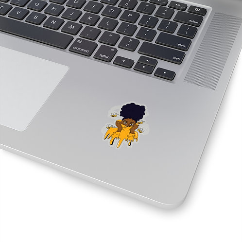 Honey Bee Kiss-Cut Stickers
