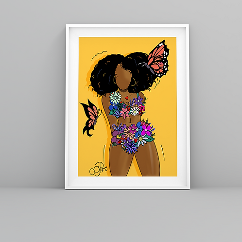 """Eden"" Art Prints"