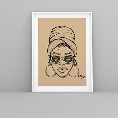 """""""Nola Brown"""" Art Prints"""