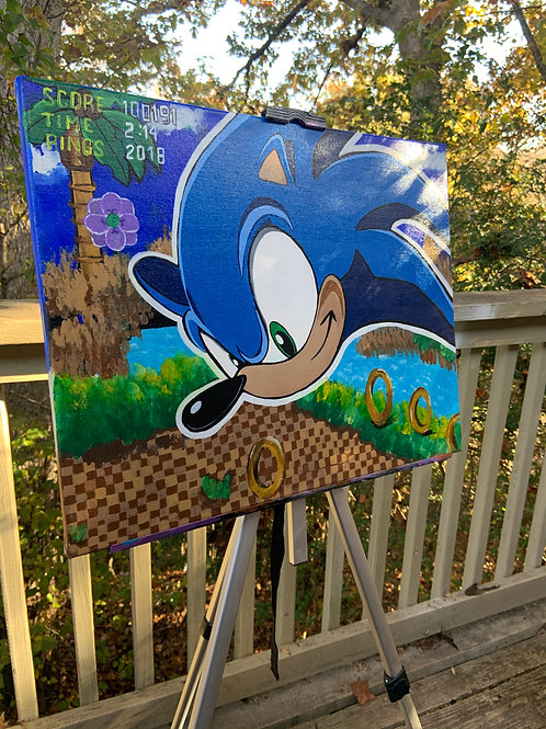 """""""Supersonic"""" Canvas Painting"""