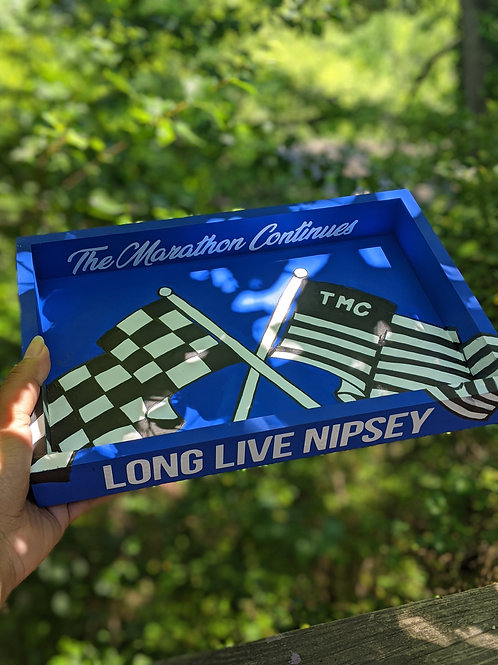 Handpainted Wooden Rolling Trays