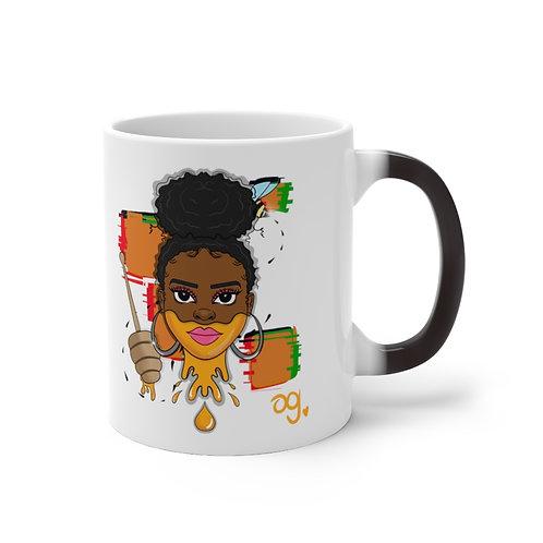 """Just Add Honey"" Color Changing Mug"