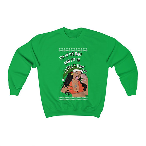 """In Santa's Bag"" Ugly Chrihma Sweatshirt"