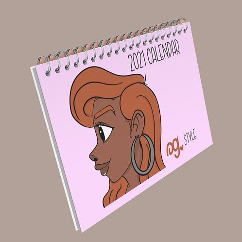OG Style 2021 Calendar