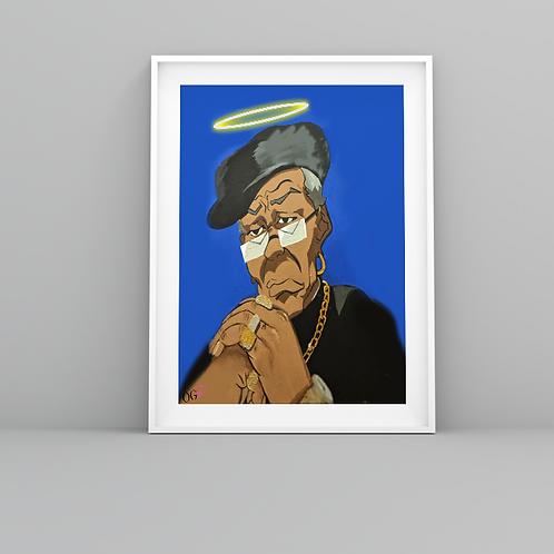 """RIP Grandad ""Nino"" Freeman"" Art Prints"