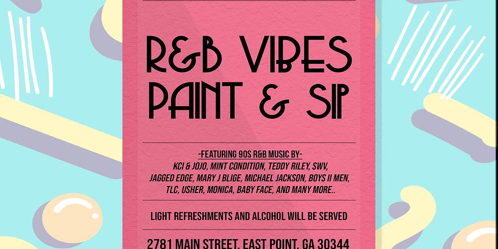 R&B Vibes Paint & Sip