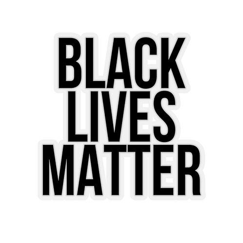 """Black Lives Matter"" Kiss-Cut Stickers"