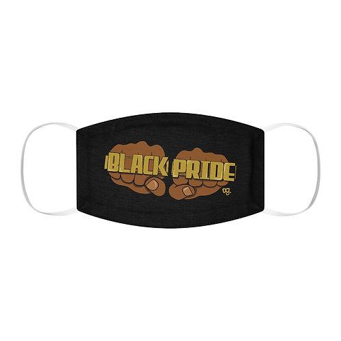 """""""Black Pride"""" Snug-Fit Polyester Face Mask"""