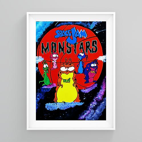 """""""Monstars Jam"""" Art Prints"""