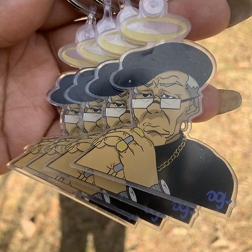 """Nino Freeman"" Keychain"