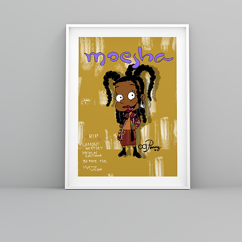 """Moesha Car-Mitchell"" Art Prints"
