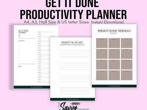 Get it Done Planner